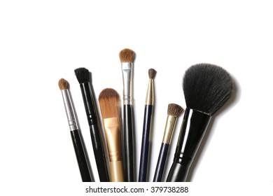 used make up brush set over use effect