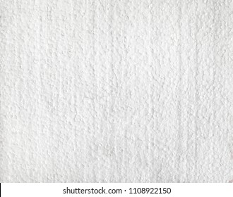 Used polystyrene used for thermal insulation of buildings. Styrofoam surface. Polystyrene board pattern. Expanded polystyrene background image. Polystyrene foam home screen.