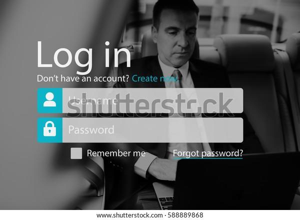 User Login Account Setting Interface