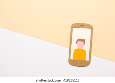 User profile picture on smart phone