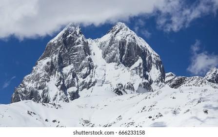 Ushba / Georgian mountain