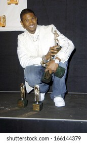 Usher in the press room for 2005 Soul Train Music Awards, Paramount Studios, Los Angeles, CA, Monday, February 28, 2005