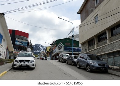 USHUAIA, ARGENTINA - NOVEMBER 15,2014:Ushuaia - the southernmost city in the world.
