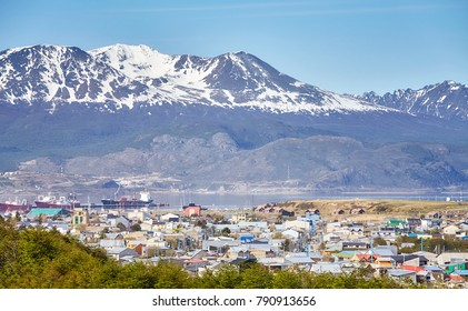 Ushuaia city, commonly known as the southernmost city in the world, Argentina.