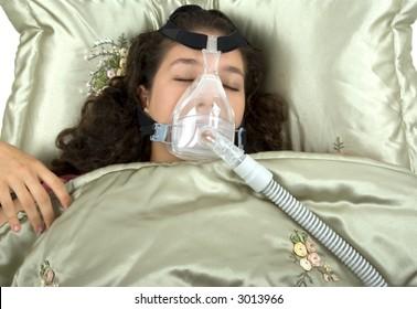 Using CPAP machine