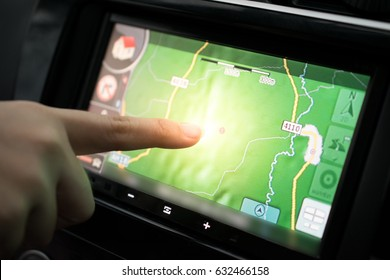 Using GPS in car while travel.