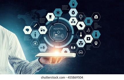 Using innovative technologies . Mixed media