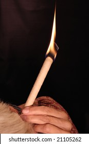 Using A Lighted Ear Candle
