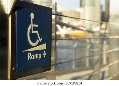 using wheelchair ramp, special for someone special.