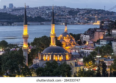 Uskudar Mihrimah Sultan Mosque and New Mosque
