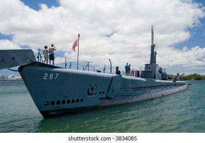U.S.S. Bowfin. a WWII submarine in Pearl Harbor, Hawaii