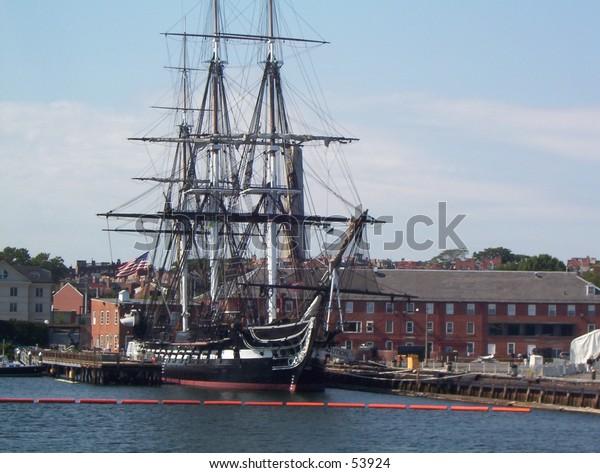 USS Constitution Battleship in Boston