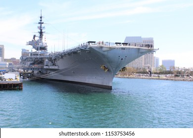 USS Midway (CVB/CVA/CV-41) was an aircraft carrier of the US Navy, the lead ship of her class. Commissioned a week after the end of World War II, Midway was the largest ship in the world until 1955.