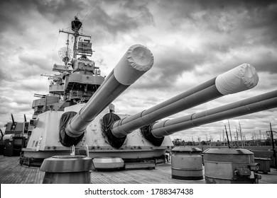 USS North Carolina BB-55 Wilmington, North Carolina/USA – August 5 2019