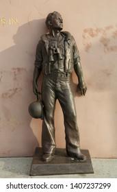 U.S.S. San Diego (CL-53) Memorial by Eugene Daub & Louis Quaintance, San Diego, California, USA. September 20th 2016