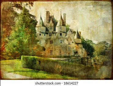 Usse - fairy castle Loire' valley (from my castle collection)