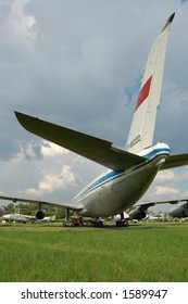 ussr airplane tail