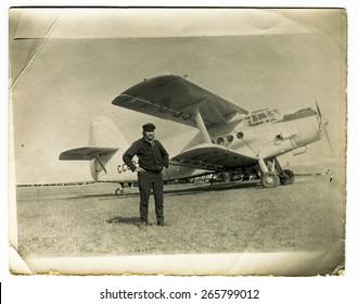 Antique Aircraft Flight Images, Stock Photos & Vectors