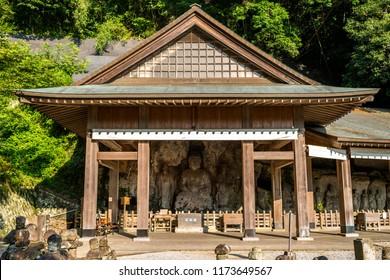 Usuki Stone Buddhas, Oita Japan.