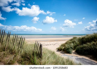 Utah Beach Beach of the invasion landing, Normandy, France