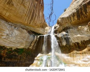 Utah National Park 2019 Hiking Lower Calf Creek Water Fall