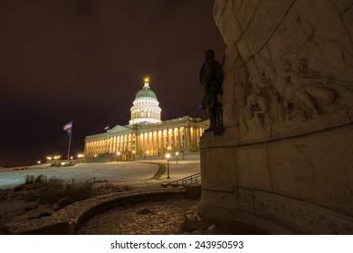 Utah State Capitol Building, Utah