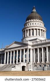 Utah State Capitol Building in Salt Lake City, UT