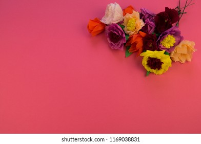 Roses From Crepe Paper Images Stock Photos Vectors Shutterstock