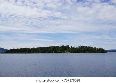 Utoya island where a massacre took place 2011, Norway