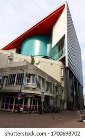 Utrecht, the Netherlands - 16 Mar, 2020: TivoliVredenburg building in Utrecht is a cultural place for music and concerts