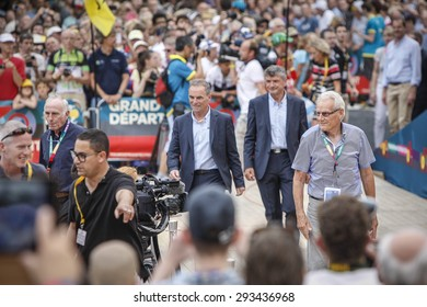 Utrecht, The Netherlands. 2nd July, 2015. Tour de France Team Presentation, Thursday July 2, 2015. Utrecht, The Netherlands