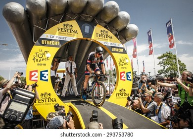 Utrecht, The Netherlands. 4th of July, 2015. Tour de France Time Trial Stage, ROY CURVERS, Team Giant Alpecin