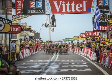 Utrecht, The Netherlands. 5th of July, 2015. Tour de France 2nd Stage