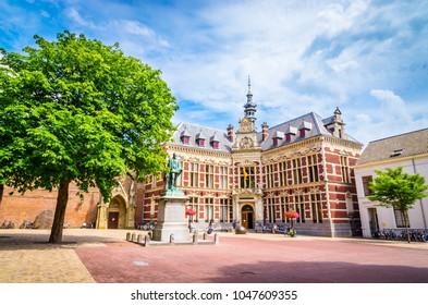 Utrecht University at Dom Square  in Utrecht, Netherlands.