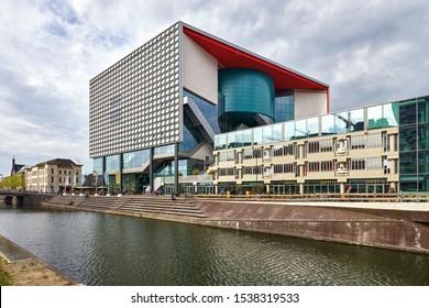 UTRECHT/NETHERLANDS - April 28, 2018: TivoliVredenburg music complex in Utrecht