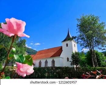 Utvik Church, Stryn, Sogn og Fjordane, Norway