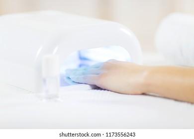 UV lamp in spa