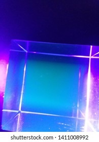 uv light acrylic cube hypercube