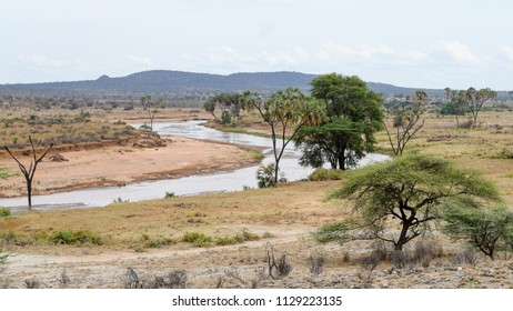 Uwaso Nyiro River in Samburu National Reserve, Samburu, Kenya