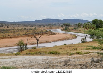 Uwaso Nyiro River in Samburu National Reserve, Kenya