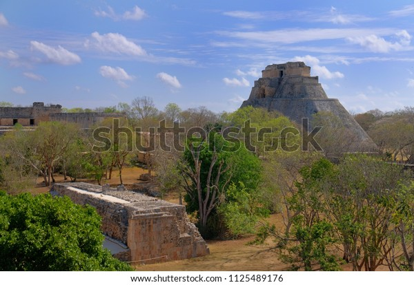 Uxmal, an ancient Maya city, is one of the important archaeological sites of Maya culture in Mexico that  has been designated a UNESCO World Heritage Site in recognition of its significance.