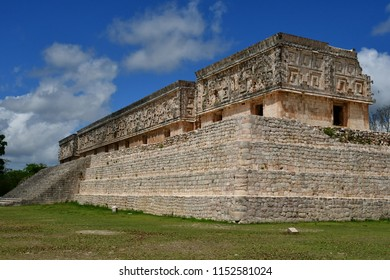 Uxmal; United Mexican State - may 18 2018 : the pre Columbian site