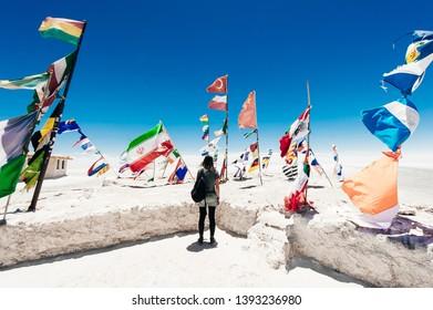 Uyuni Salt Flat - Salar de Uyuni - world's largest salt flat, Bolivia