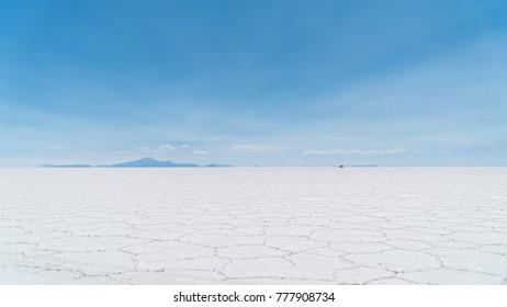Uyuni Salt Flat world's largest salt flat, Salar de Uyuni, Bolivia