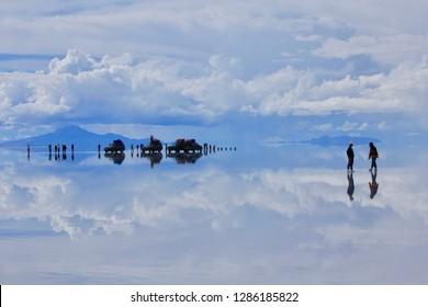 Uyuni Salt Flat(Salar de Uyuni),Uyuni,Bolivia