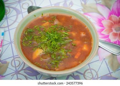 Uzbekian dishes