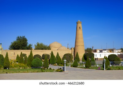Uzbekistan. Khiva. Streets of the old city