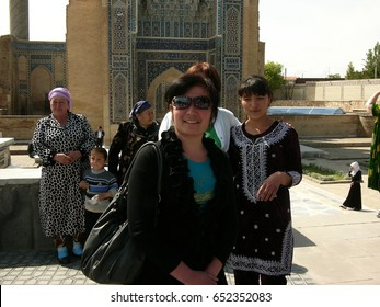 Uzbekistan / people of uzbekistan / picture showing some of the people in Uzbekistan, taken in August 2014.