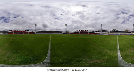 Macará v Guabirá - Copa Sudamericana 2019 AMBATO, ECUADOR - FEBRUARY 12: Bellavista Stadium in the city of Ambato ready to host the international match of Copa Sudamericana 2019