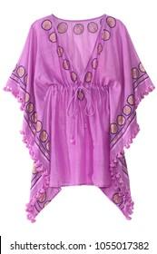 v neck poncho blouse